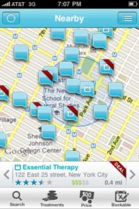 NY app search