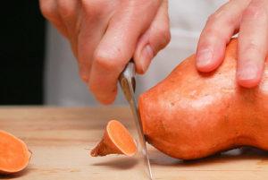 Sweet potato image via Flickr user Minimalistphotography101.com