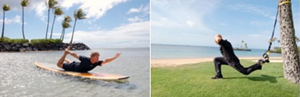 Stand-Up Paddle Yoga at Kahala