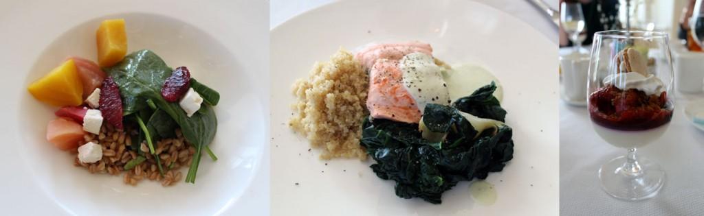 Spa cuisine lunch photos by Amy Sung