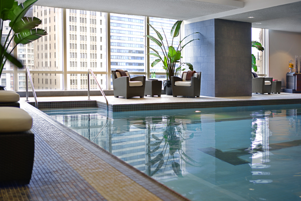 Pool at Trump Chicago