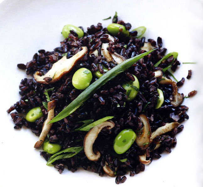 Miraval Black Rice and Edamame Salad Recipe