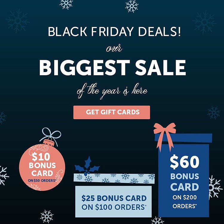 BlackFriday deals start now! Get your 100 Bonus Card Checkhellip