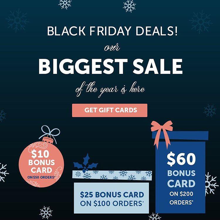 BlackFriday deals start now! Get your 100 Bonus Card Checkhellip