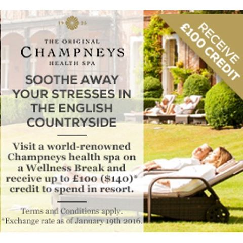 Immerse yourself in pureluxury champneysspas with a retreat package youllhellip