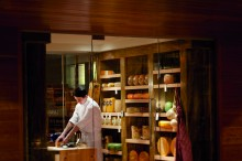 Ritz-Carlton Toronto cheese cave