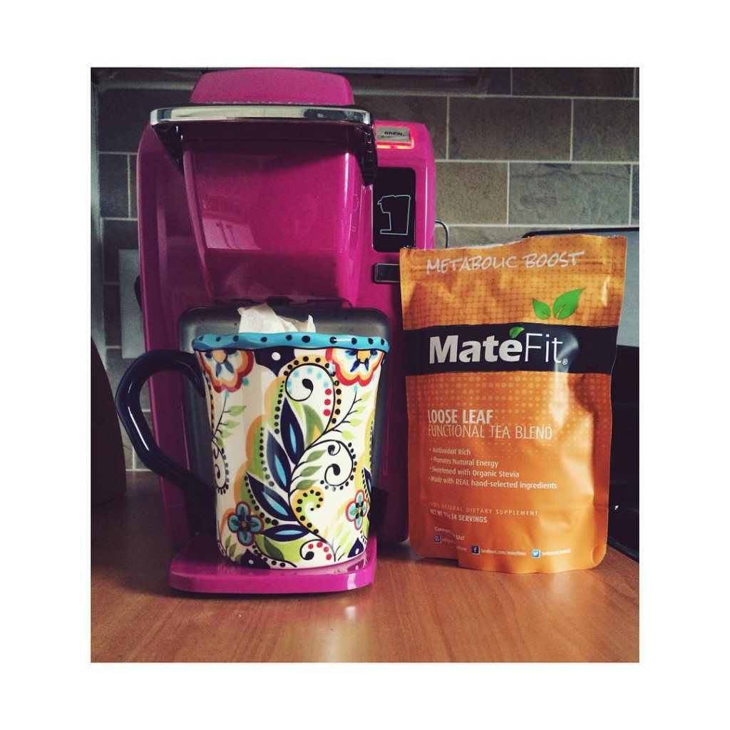 Our midday must have! matefitme metabolic boost tea teatox matefithellip