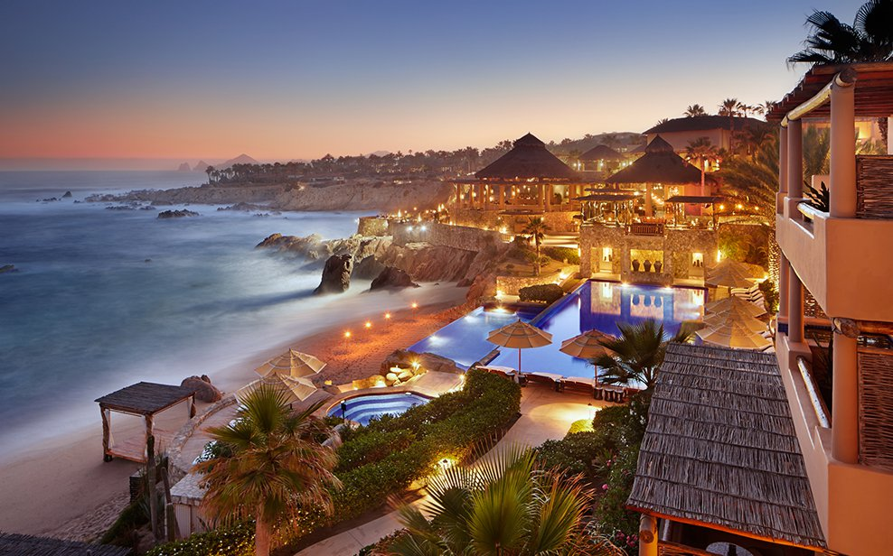 A tale of two cabos los cabos resorts rebuilt in high fashion for Best honeymoon resorts in cabo san lucas
