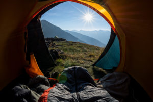 healthy camping