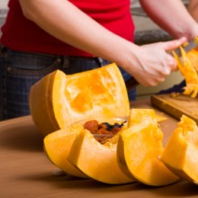 DIY pumpkin scrub & pumpkin mask