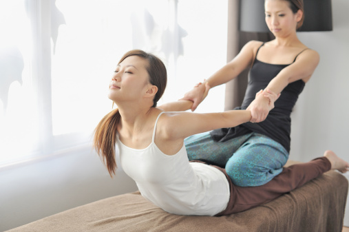eastern and western types of massage