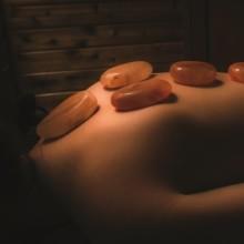 Saltability's Himalayan salt massage stones.