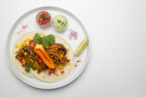 deliverlean roasted veggie taco recipe