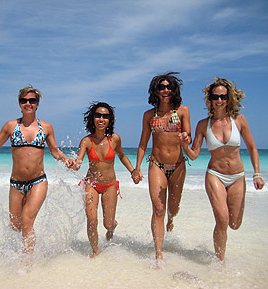 Bikini Bootcamp at the Amansala in Tulum, Mexico