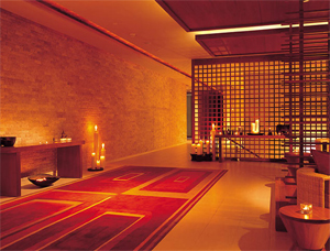 Chi 'The Spa at Shangri-La' in the Shangri-La Hotel in Bangkok, Thailand
