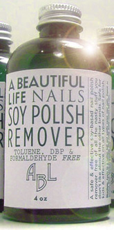 Soy Polish Remover