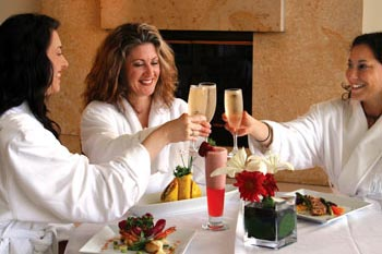 Spa Cuisine at the Huntington Hotel and Nob Hill Spa