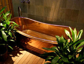 Maui Copper Tub
