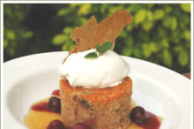 Cherry Steamed Pudding