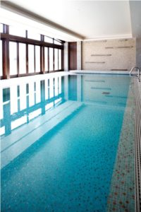 Chlorine-free pool at The Spa at Primland