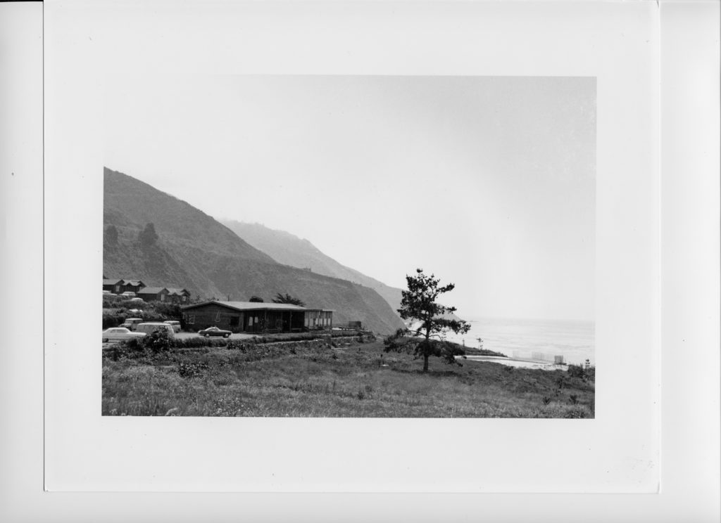 The lodge at Esalen in the early '60s