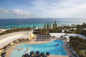 The pool at Elbow Beach, Bermuda