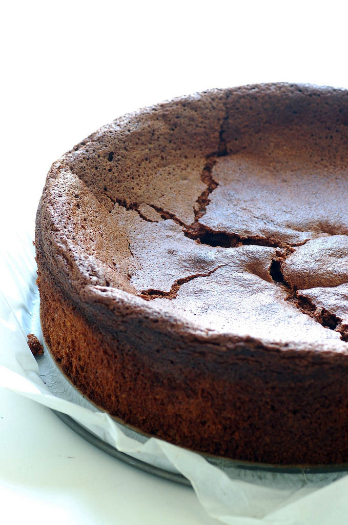 Chocolate Souffle Cake Image via Flickr user Jules:stonesoup
