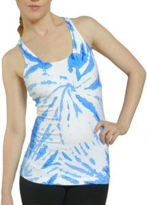 U-Scoop Tie Dye Tank, photo courtesy of londomondo.com