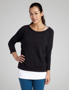 Relaxed Pullover, photo courtesy of BeyondYoga.com