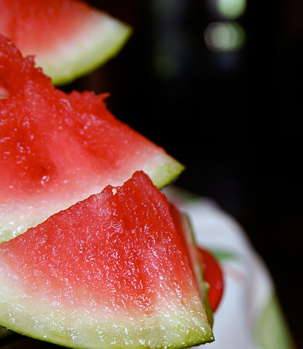 Watermelon image via Flickr user stevendepolo