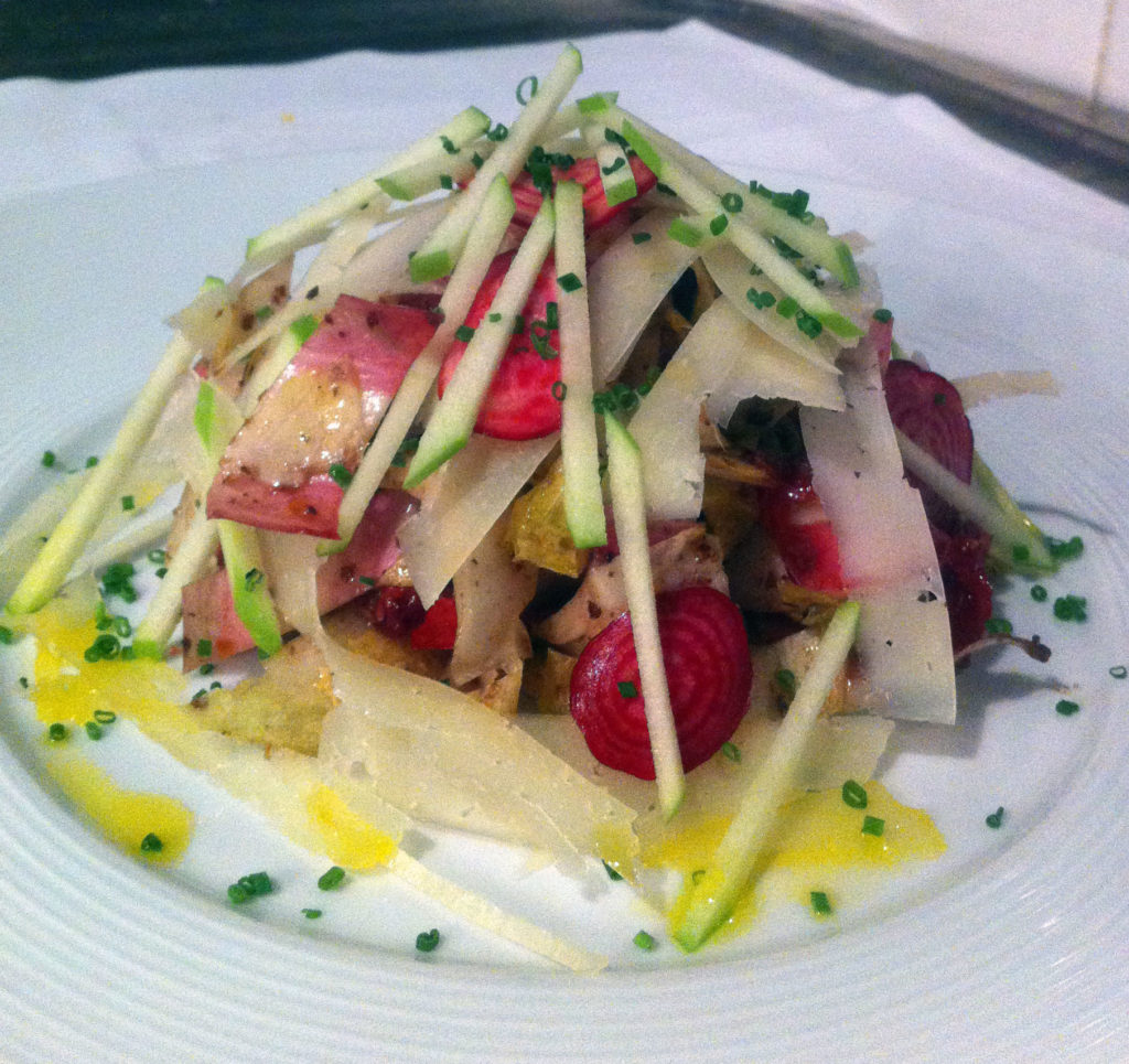 Endive salad photo courtesy of David Burke