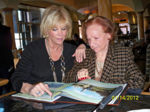 Joan Lunden and Mom Glady