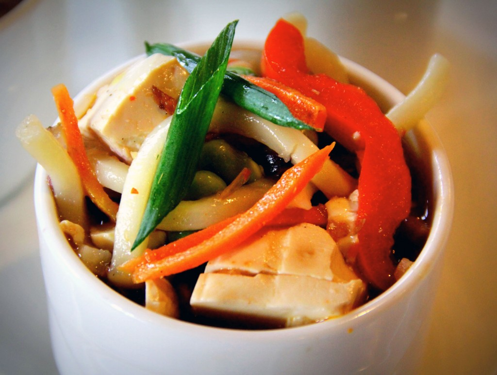 Udon Noodle Bowl photo courtesy of Crystal Mountain Resort & Spa