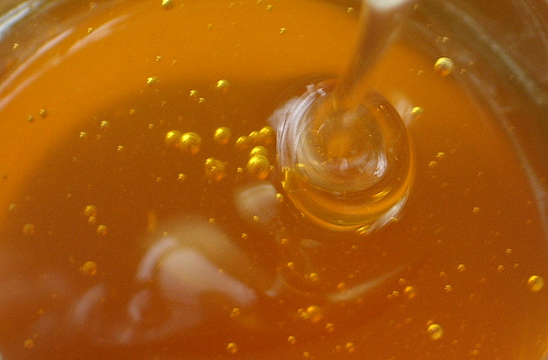 Honey image via Flickr user Siona Karen