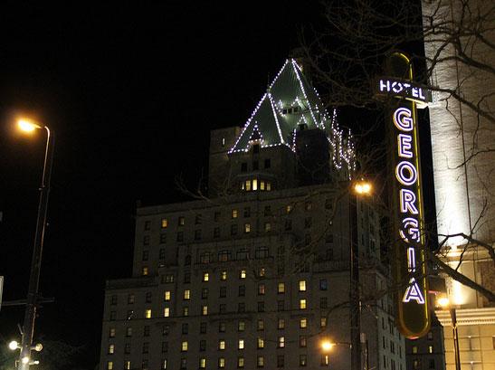 Hotel Georgia, photo by Amy Sung