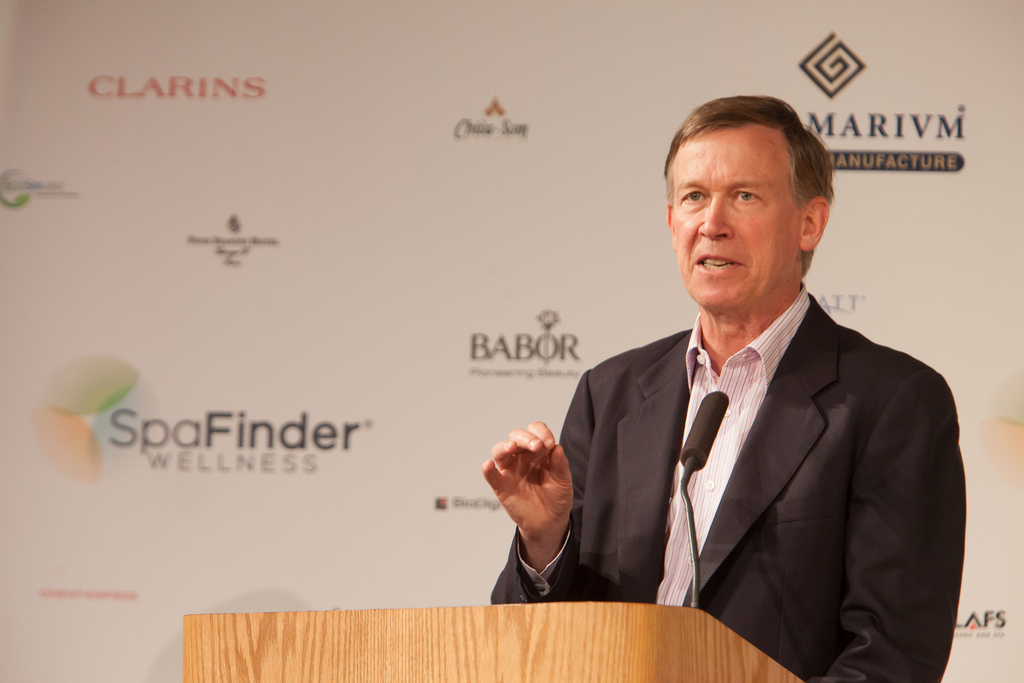 Governor John Hickenlooper of Colorado