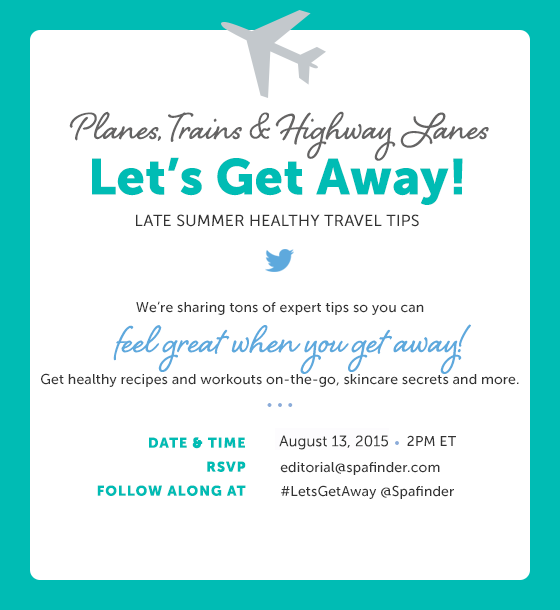 Wellness Travel Twitter Chat