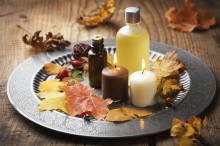 diy fall spa