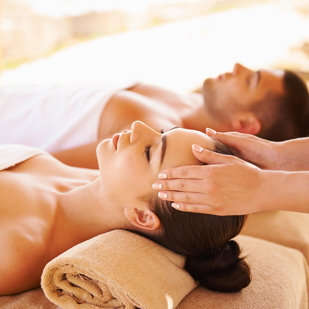 A couples massage is both romantic and therapeutic.