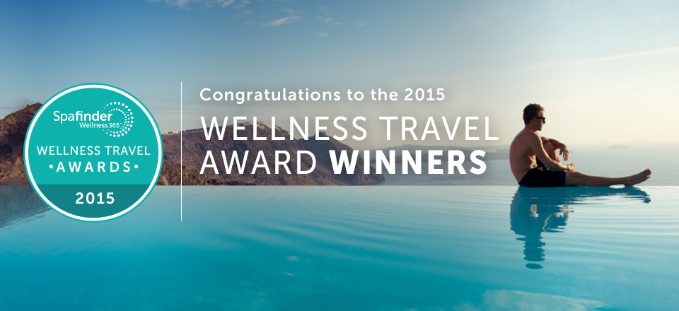 2015 wellness travel awards winners