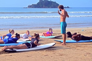 "Soul & Surf combines expert surf lessons/tours with wellness ""soul"": sunset yoga, meditation, massage, Ayurvedic consultations—and a surf club for village kids."