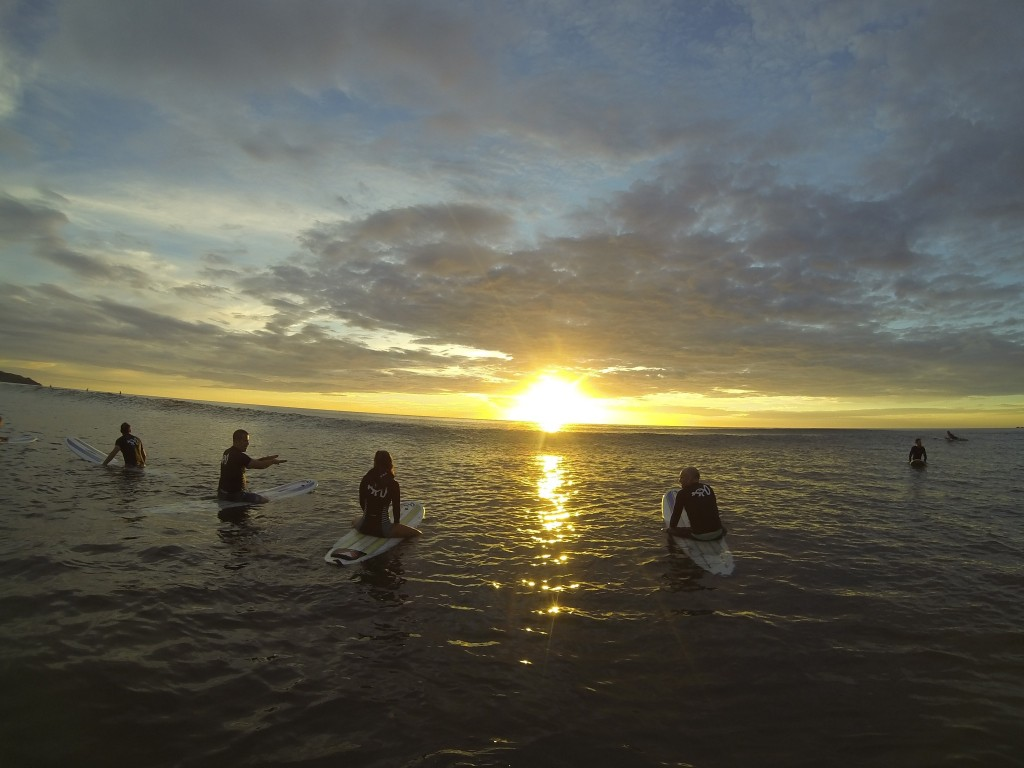 The all-inclusive Surf Simply (Nosara), takes surf coaching to another level for both beginners and the experienced—combined with yoga, massage and healthy meals.