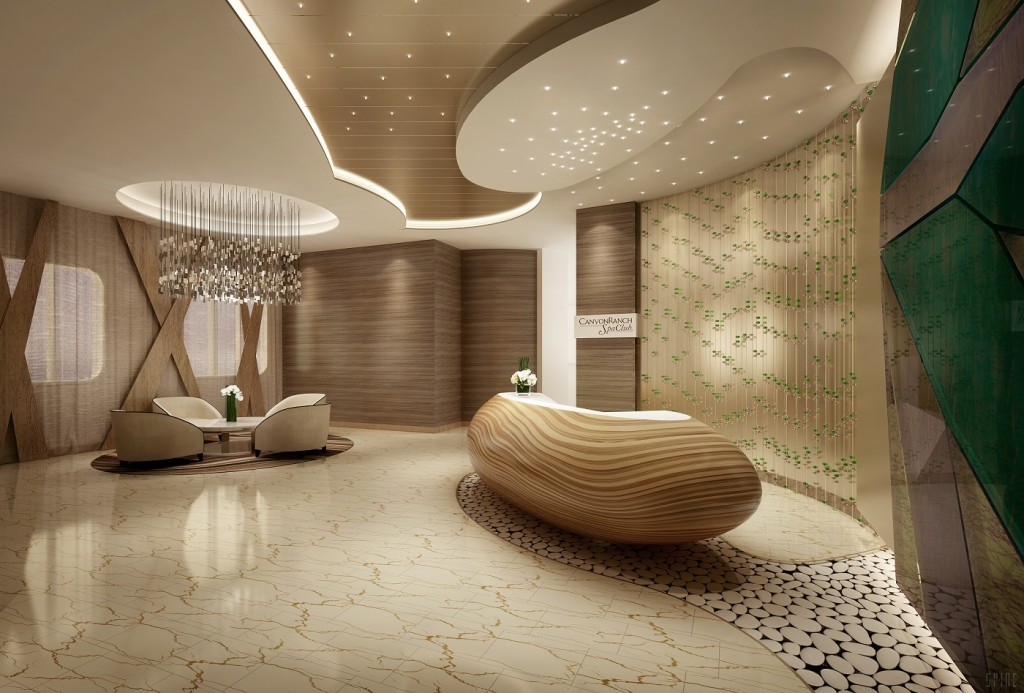 Cruise ships are tapping into luxury wellness. Examples include a lavish Canyon Ranch SpaClub aboard the equally luxurious Seven Seas Explorer, set to sail its maiden voyage July 2016.