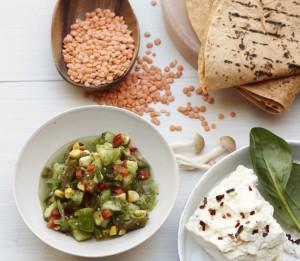 Healthy Recipe: Miraval's Lentil Portobello Roll-Ups