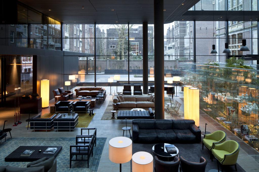 Conservatorium hotel lobby