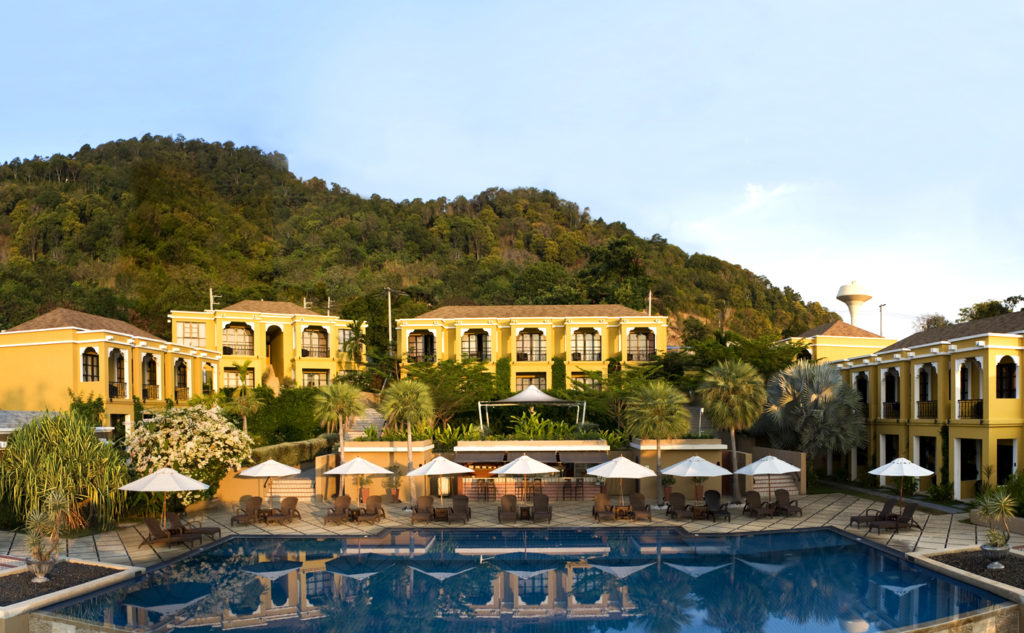 panoramic view of spa