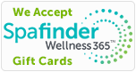 We Accept Spafinder Wellness 365 Gift Cards Badge
