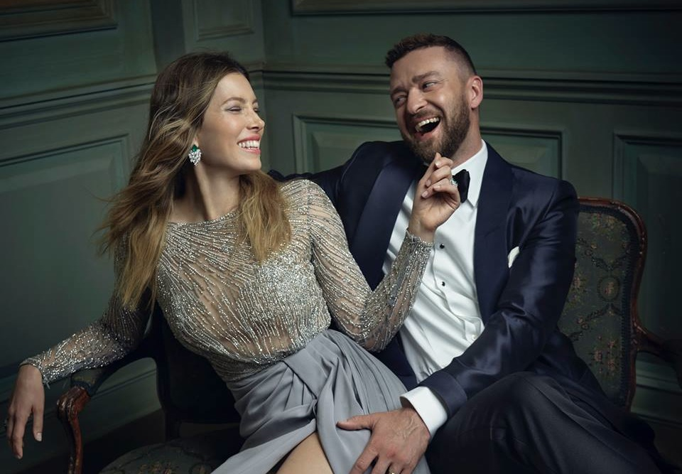 justin timberlake jessica biel at vanity fair by mark seliger