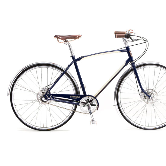 navy bixby bike shinola
