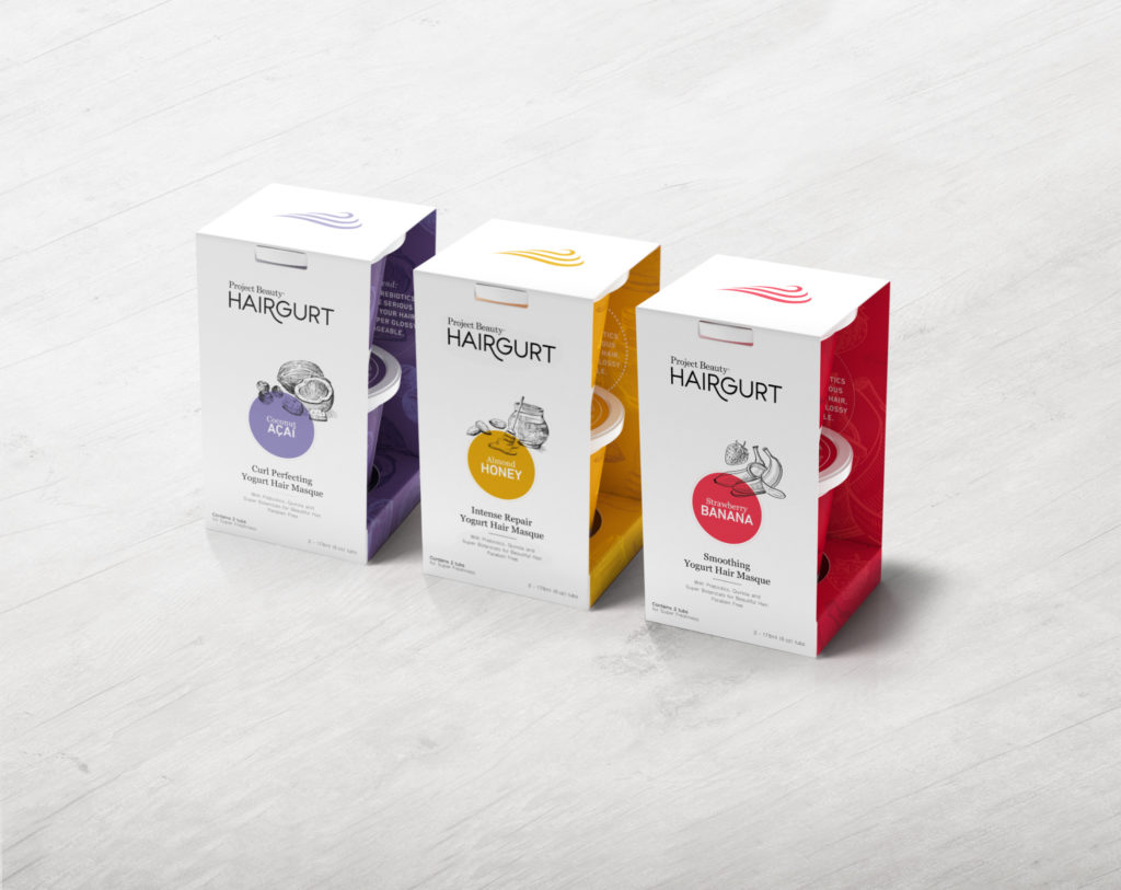 hairgurt yogurt masques